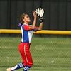 5-16-18<br /> Kokomo vs Cass softball<br /> Kokomo's Lauryn Hicks makes the catch for an out.<br /> Kelly Lafferty Gerber | Kokomo Tribune
