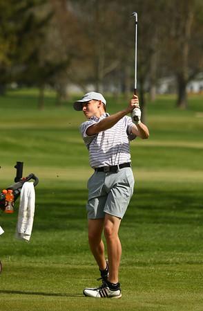 5-2-18<br /> WHS vs KHS boys golf<br /> Western 1 Kyle Sanders<br /> Kelly Lafferty Gerber   Kokomo Tribune