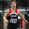 5-17-18<br /> Boys track and field sectional<br /> Taylor's Bailey Rostron in the 400 meter dash.<br /> Kelly Lafferty Gerber | Kokomo Tribune
