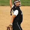 5-9-18<br /> Eastern vs Western softball<br /> Western's Sadie Harding pitches.<br /> Kelly Lafferty Gerber | Kokomo Tribune