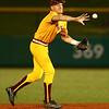 5-23-18<br /> Kokomo vs McCutcheon baseball<br /> Kelden Tyson tosses the ball to second for an out.<br /> Kelly Lafferty Gerber | Kokomo Tribune