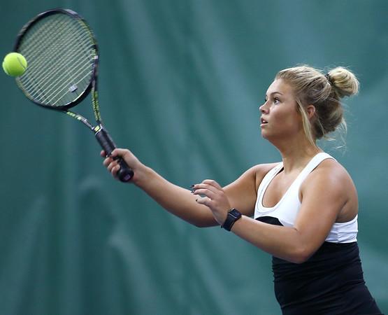 5-18-18<br /> Northwestern girls tennis sectional<br /> 3 singles Morgan Mercer<br /> Kelly Lafferty Gerber | Kokomo Tribune