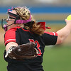5-3-18<br /> Taylor vs Carroll softball<br /> Brooklyn Meador pitches.<br /> Kelly Lafferty Gerber | Kokomo Tribune