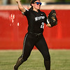 5-24-18<br /> Western vs Twin Lakes softball<br /> Chase Epp throws infield.<br /> Kelly Lafferty Gerber | Kokomo Tribune