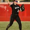 5-24-18<br /> Western vs Twin Lakes softball<br /> Chase Epp throws infield.<br /> Kelly Lafferty Gerber | Kokomo Tribune