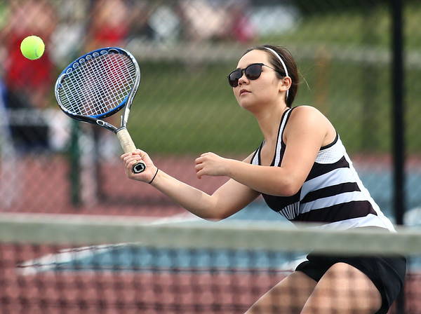 5-16-18<br /> Girls sectional tennis<br /> Western 2 singles Abigail Moreno.<br /> Kelly Lafferty Gerber   Kokomo Tribune