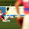 5-25-18<br /> Kokomo vs Harrison baseball<br /> Nate Hemmerich makes the catch for an out in the outfield.<br /> Kelly Lafferty Gerber | Kokomo Tribune