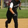 5-9-18<br /> Eastern vs Western softball<br /> Western's Carlie Ritchie heads to third base.<br /> Kelly Lafferty Gerber | Kokomo Tribune