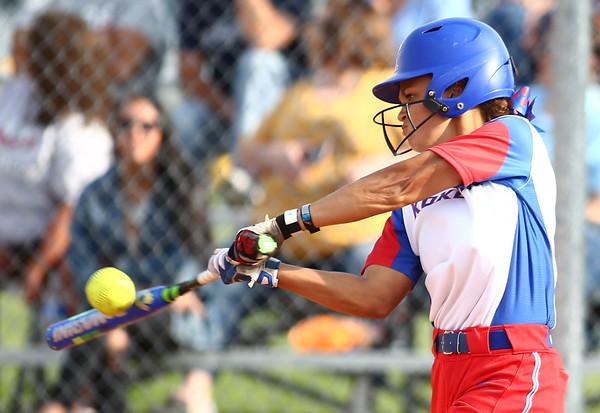 5-16-18<br /> Kokomo vs Cass softball<br /> Kokomo's Lauryn Hicks bats.<br /> Kelly Lafferty Gerber | Kokomo Tribune