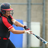 5-3-18<br /> Taylor vs Carroll softball<br /> Shaelah Eliason bats.<br /> Kelly Lafferty Gerber | Kokomo Tribune