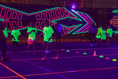 Tennis X-GLO Special Event