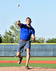 CNY Central Sports Report Matt Hauswirth threw out the First Pitch before the New York Collegiate Baseball League (NYCBL)/Atlantic Collegiate Baseball League (ACBL) All-Star Game at the Onondaga Community College Turf Field on Monday, July 9, 2018.