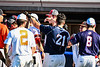 North Jersey Eagles Jacob Buser (21) receiving congratulations after winning the Home Run Derby at the New York Collegiate Baseball League (NYCBL)/Atlantic Collegiate Baseball League (ACBL) All-Star Game at the Onondaga Community College Turf Field on Monday, July 9, 2018.
