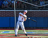 Trenton Generals Tatem Levins (2) participating in the Home Run Derby at the New York Collegiate Baseball League (NYCBL)/Atlantic Collegiate Baseball League (ACBL) All-Star Game on the Onondaga Community College Turf Field in Syracuse, New York on Monday, July 9, 2018.