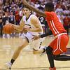 11-20-18<br /> Kokomo vs Western boys basketball<br /> Western's Kace Howard dribbles down the court.<br /> Kelly Lafferty Gerber | Kokomo Tribune