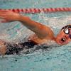Logansport's Sophia Rozzi swimming the 50 free during the Northwestern at Logansport swim meet on Nov. 28, 2018, in Logansport, Indiana. <br /> Tim Bath | Kokomo Tribune