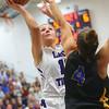 11-10-18<br /> Northwestern vs Carmel girls basketball<br /> Katie Neher shoots.<br /> Kelly Lafferty Gerber | Kokomo Tribune