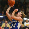 11-21-18<br /> Tri Central vs Tipton<br /> Tipton's Carson Dolezal shoots.<br /> Kelly Lafferty Gerber | Kokomo Tribune