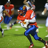 11-2-18<br /> Kokomo vs Harrison sectional championship<br /> Brady Wiese runs the ball.<br /> Kelly Lafferty Gerber | Kokomo Tribune