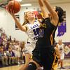 11-10-18<br /> Northwestern vs Carmel girls basketball<br /> Klair Merrell puts up a shot.<br /> Kelly Lafferty Gerber   Kokomo Tribune