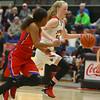 11-7-18<br /> Taylor vs Kokomo girls basketball<br /> Taylor's Kelsi Langley heads down the court.<br /> Kelly Lafferty Gerber | Kokomo Tribune