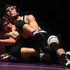 11-28-18<br /> Western vs Northwestern wrestling<br /> Western's Luke Lechner takes down NW's Nolan Floyd in the 170.<br /> Kelly Lafferty Gerber | Kokomo Tribune