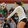 11-17-18<br /> IUK vs Saint Xavier volleyball<br /> Macee Rudy goes for the dig.<br /> Kelly Lafferty Gerber | Kokomo Tribune