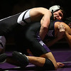11-28-18<br /> Western vs Northwestern wrestling<br /> Western's Dylan Goudy takes down NW's Marcos Castorena in the 138.<br /> Kelly Lafferty Gerber | Kokomo Tribune