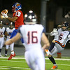11-2-18<br /> Kokomo vs Harrison sectional championship<br /> Kohl Beard intercepts a pass.<br /> Kelly Lafferty Gerber | Kokomo Tribune