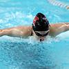 Western's Jenaka Hawkins swimming the 200 free during the swim meet between KHS and WHS girls on Nov. 13, 2018. <br /> Tim Bath | Kokomo Tribune