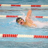 Northwestern's Mitchell Harrell swimming the 200 IM during the Northwestern at Logansport swim meet on Nov. 28, 2018, in Logansport, Indiana. <br /> Tim Bath | Kokomo Tribune