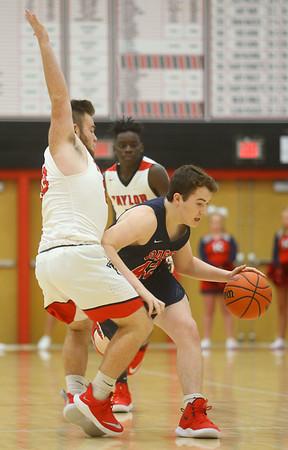 11-27-18<br /> Taylor vs Lewis Cass boys basketball<br /> <br /> Kelly Lafferty Gerber | Kokomo Tribune