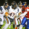 11-2-18<br /> Harrison vs Kokomo sectional championship<br /> Jeremy Clampitt runs the ball.<br /> Kelly Lafferty Gerber | Kokomo Tribune