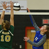 10-11-18<br /> Eastern vs Tipton volleyball<br /> Tipton's Kelsey Mitchell.<br /> Kelly Lafferty Gerber | Kokomo Tribune