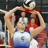 10-20-18<br /> Tipton vs Clinton Prairie regional volleyball semi-final<br /> <br /> Kelly Lafferty Gerber   Kokomo Tribune