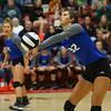 10-11-18<br /> Eastern vs Tipton volleyball<br /> Tipton's Cassidy Crawford.<br /> Kelly Lafferty Gerber | Kokomo Tribune