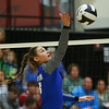 10-11-18<br /> Eastern vs Tipton volleyball<br /> Tipton's Rachael Ressler.<br /> Kelly Lafferty Gerber | Kokomo Tribune