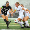 10-6-18<br /> Western vs Marion girls soccer sectional championship<br /> Western's Sophie Weigt makes a kick.<br /> Kelly Lafferty Gerber | Kokomo Tribune