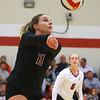 10-30-18<br /> IUK volleyball<br /> Macee Rudy makes a dig.<br /> Kelly Lafferty Gerber | Kokomo Tribune