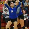 10-11-18<br /> Eastern vs Tipton volleyball<br /> <br /> Kelly Lafferty Gerber | Kokomo Tribune