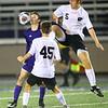 Western HS boys soccer team defeated Northwestern's 2-1 during the sectional final on Oct. 6, 2018.<br /> Tim Bath | Kokomo Tribune