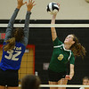 10-11-18<br /> Eastern vs Tipton volleyball<br /> Eastern's Loralei Evans.<br /> Kelly Lafferty Gerber | Kokomo Tribune