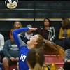 10-11-18<br /> Eastern vs Tipton volleyball<br /> Tipton's Lauren Shively.<br /> Kelly Lafferty Gerber | Kokomo Tribune