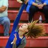 10-11-18<br /> Eastern vs Tipton volleyball<br /> Tipton's Marika Herron.<br /> Kelly Lafferty Gerber | Kokomo Tribune