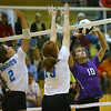 10-13-18<br /> Northwestern vs Maconaquah sectional volleyball<br /> NW's Kendal Rooze puts up a set.<br /> Kelly Lafferty Gerber | Kokomo Tribune