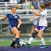 10-2-18<br /> Northwestern vs Lafayette Central Catholic girls soccer sectional<br /> LCC's Madison Love kicks the ball.<br /> Kelly Lafferty Gerber | Kokomo Tribune