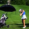 Girls Golf Sectionals on Sept. 14, 2018. Tipton's Emma Kelley