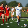 9-15-18<br /> Mac vs KHS girls soccer<br /> Kokomo's Nicole Burdette.<br /> Kelly Lafferty Gerber | Kokomo Tribune