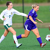 Soccer action between Northwestern HS and Eastern HS girls on Sept. 27, 2018. <br /> Tim Bath | Kokomo Tribune