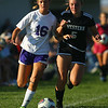 9-13-18<br /> Western vs Northwestern girls soccer<br /> NW's Hope Braun and Western's Brooklyn Garber.<br /> Kelly Lafferty Gerber | Kokomo Tribune